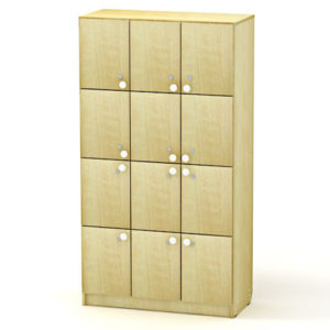 Сумочный шкаф на 12 ячеек 95*40