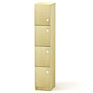 Сумочный шкаф на 4 ячейки 33*40